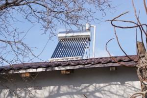 montaj panou solar solaro