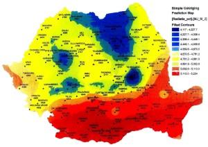 insolatie harta pentru panouri solare Romania